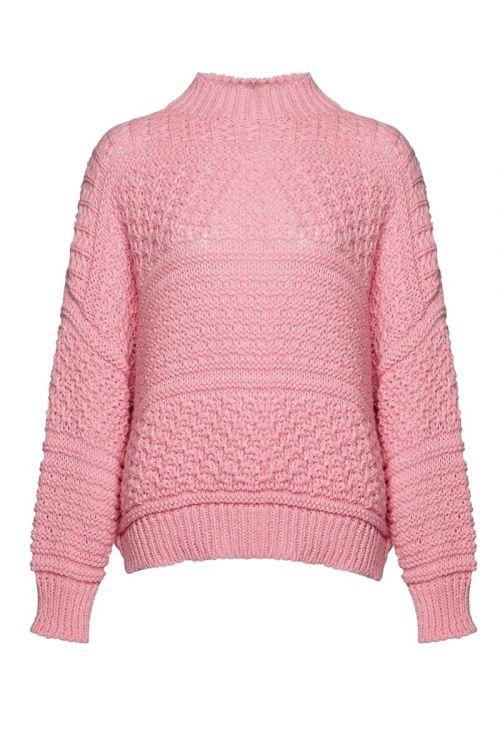 Noella - Strik - Tally Knit Sweater - Bobblegum