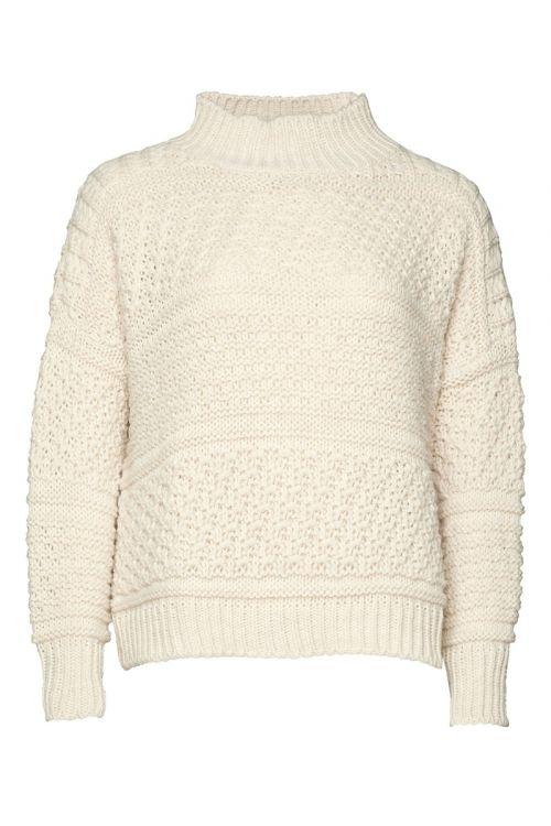 Noella - Stirk - Tally Knit Sweater - Oatmeal