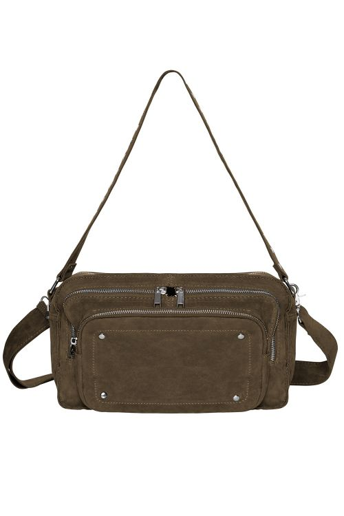 Noella Taske Cali Crossover Bag Army Green Front