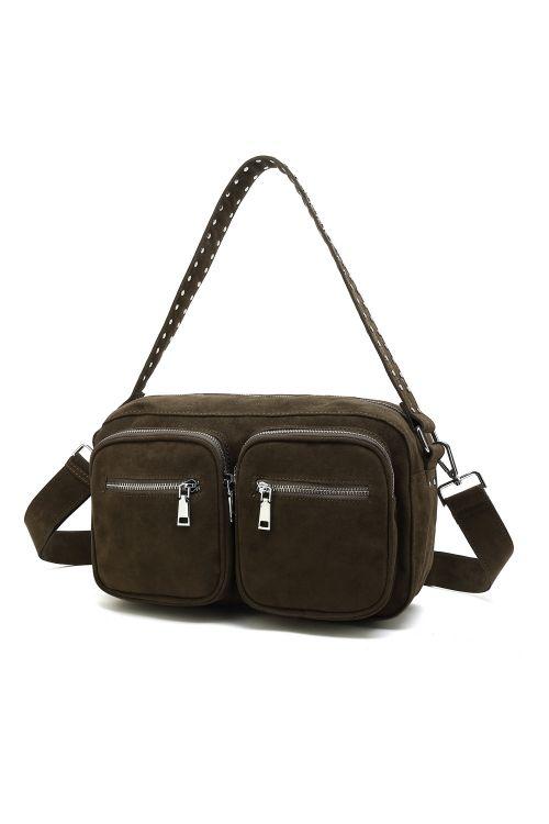 Noella Taske Celia Crossover Bag Army  Green Front