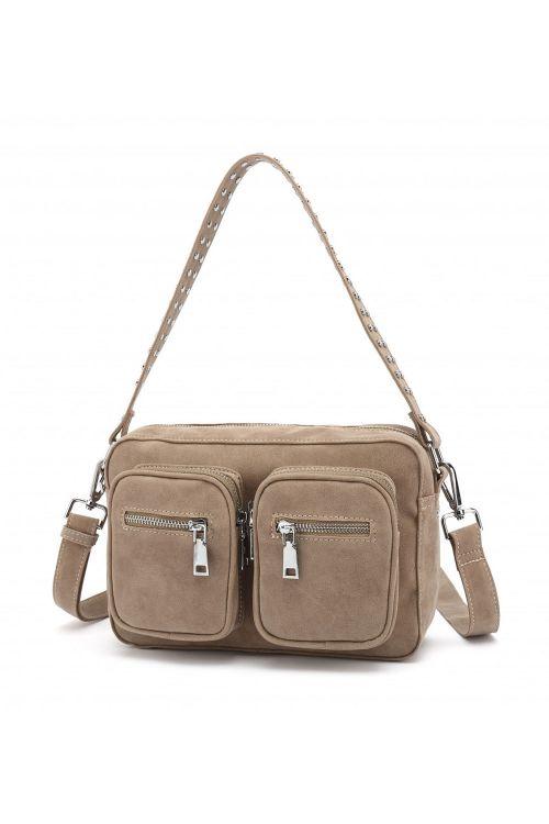 Noella Taske Celina Crossover Bag Taupe Front