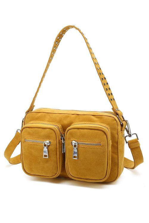 Noella Taske Celine Crossover Bag Curry Front