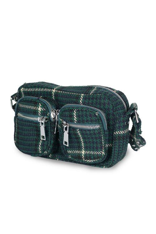 Noella - Taske - Kendra Crossover Bag - Green Check