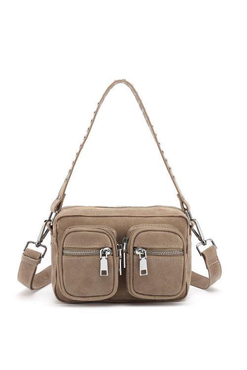 Noella Taske Kendra Crossover Bag Taupe Front