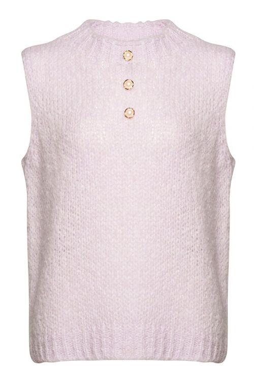 Noella - Vest - Kala Vest Pearl Slipover - Pale Lavender
