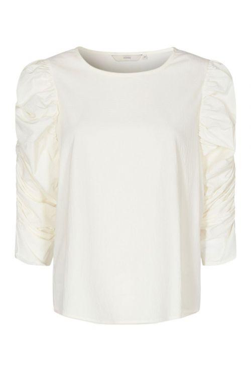 Nümph - Bluse - Nufiona Blouse - Bright White