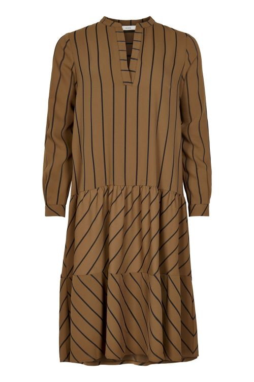 Nümph Kjole Bahira Dress Bronze Front