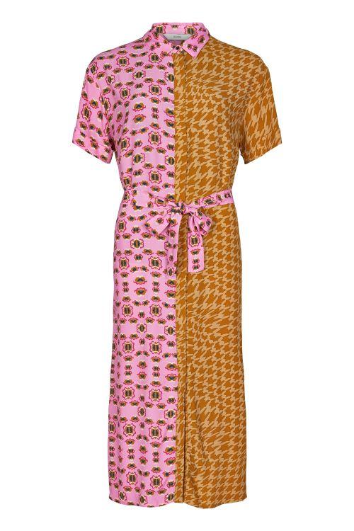 Nümph Kjole Ballou Dress Buck Brown Front