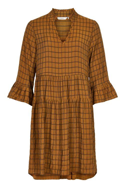 Nümph Kjole Beula Dress Buck Brown Front