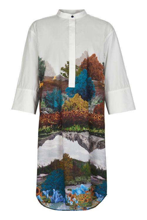 Nümph Kjole Bronya Dress White Front