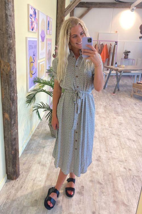 Nümph - Kjole - Cecelia Shirt Dress - Cashmere Blue
