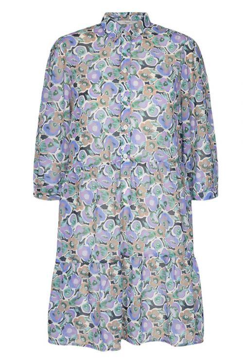 Nümph Kjole Cinnamon Dress Wedgewood Front