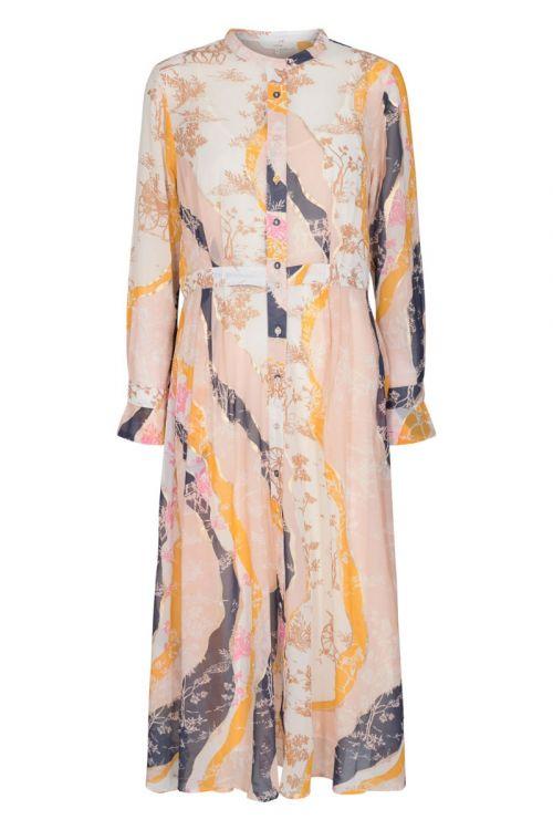 Nümph - Kjole - Kyndall Dress - Peach Skin