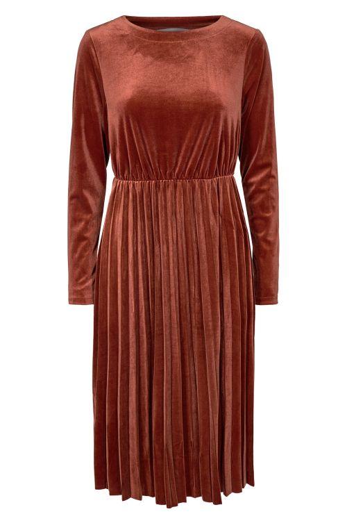 Nümph Kjole Nakotah Dress Barn Red Front