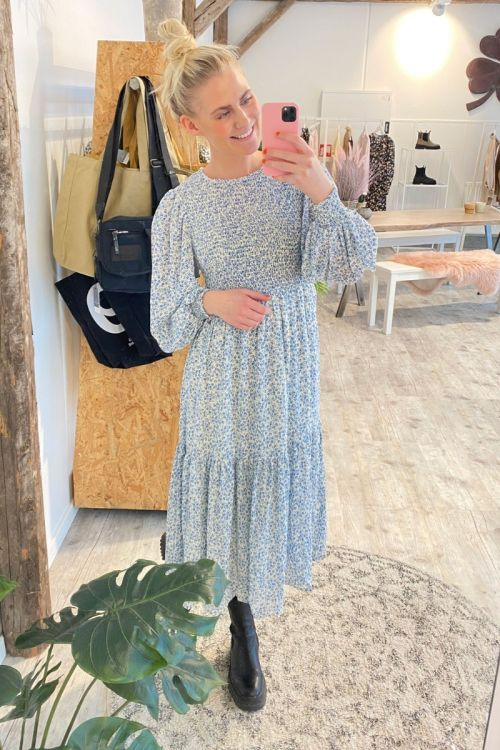 Nümph - Kjole - Nucaltum Dress - Wedgewood