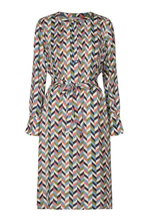 Nümph - Kjole - Nulizzeth Canna Dress - Pristine