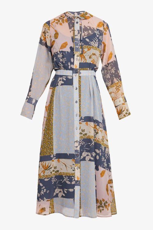 Nümph Kjole Numehri Dress Ombre Blue Front