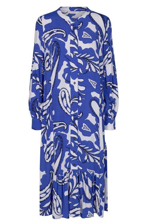 Nümph Kjole Baja Dress Dazzling Blue Front