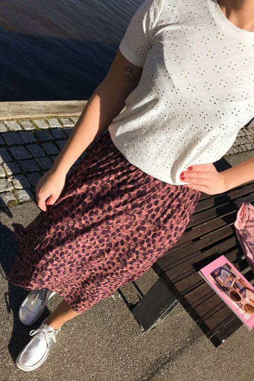 Nümph Nederdel Lykkeli Skirt Rosette Front