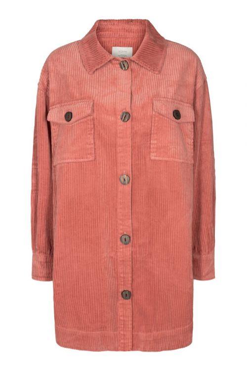 Nümph - Skjorte - Nucalah Overshirt - Ash Rose