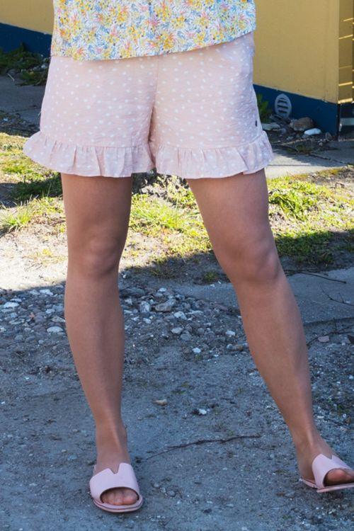 Nümph - Shorts - Bella shorts - Peach Skin