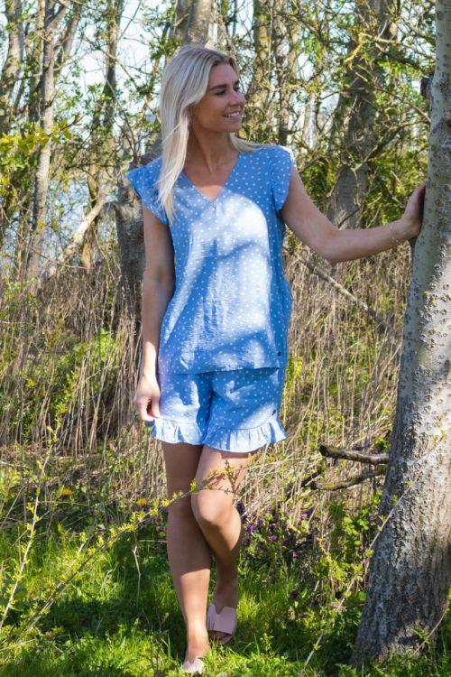 Nümph - Shorts - Bella shorts - Vista Blue