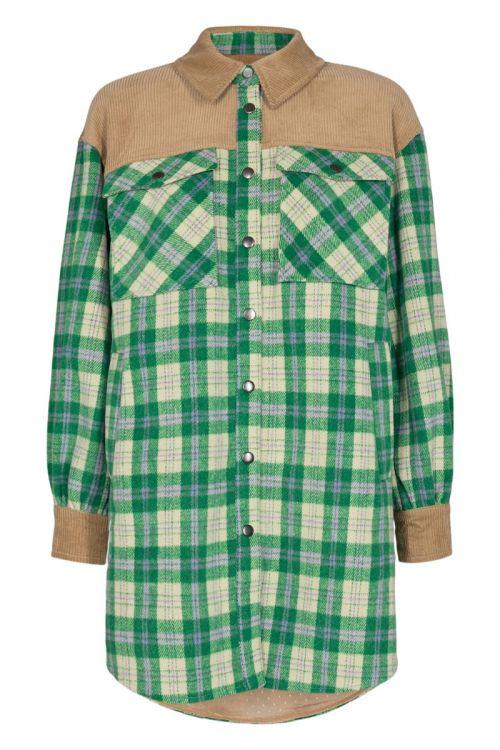 Nümph - Skjorte - Annemie Shirt - Fern Green