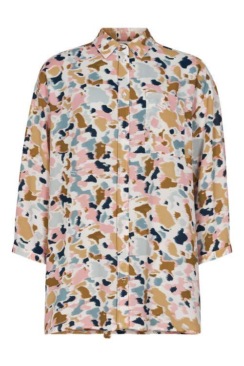 Nümph Skjorte Begonia Shirt Citadel Front