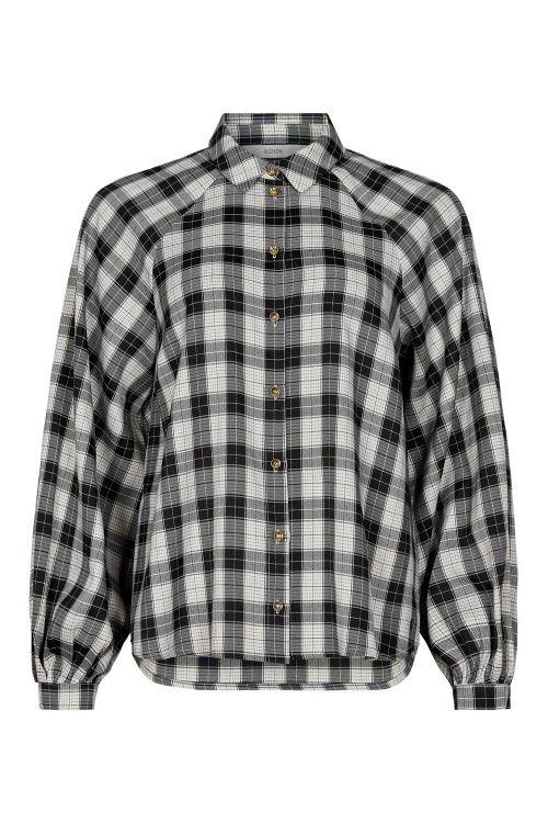 Nümph Skjorte Bibi Shirt Caviar Front