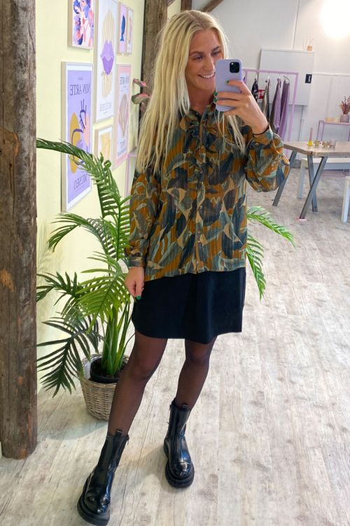 Nümph - Skjorte - Calixta Shirt - Cathay Spice