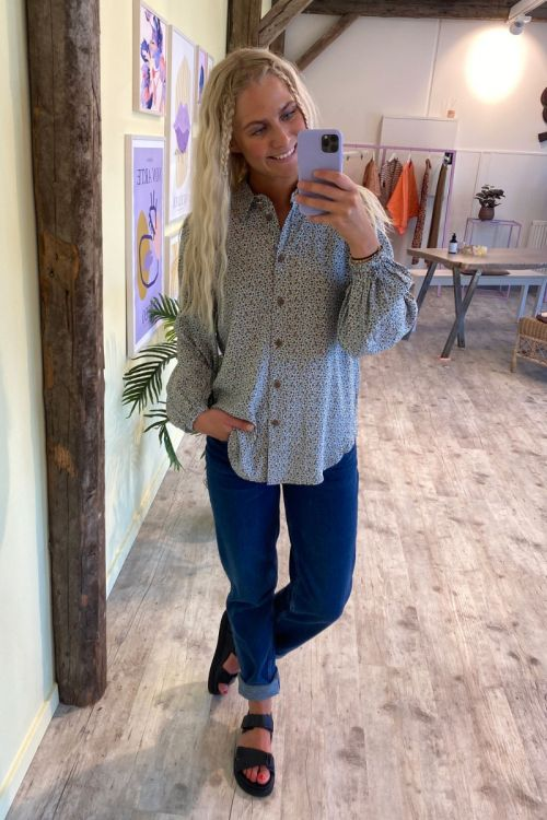 Nümph - Skjorte - Cecelia Shirt - Cashmere Blue