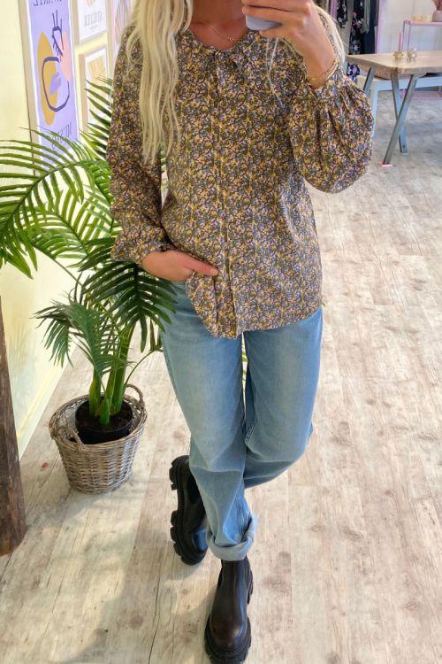 Nümph - Skjorte - Chabelly Shirt - Grape Leaf