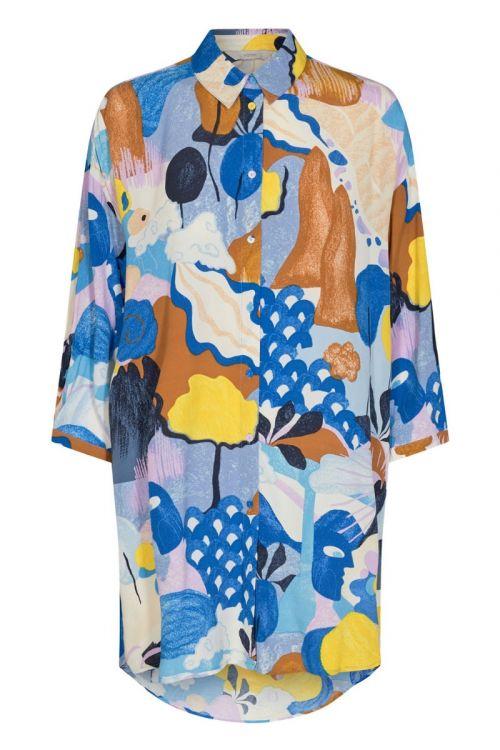 Nümph - Skjorte - Cicely Long Shirt - Princess Blue