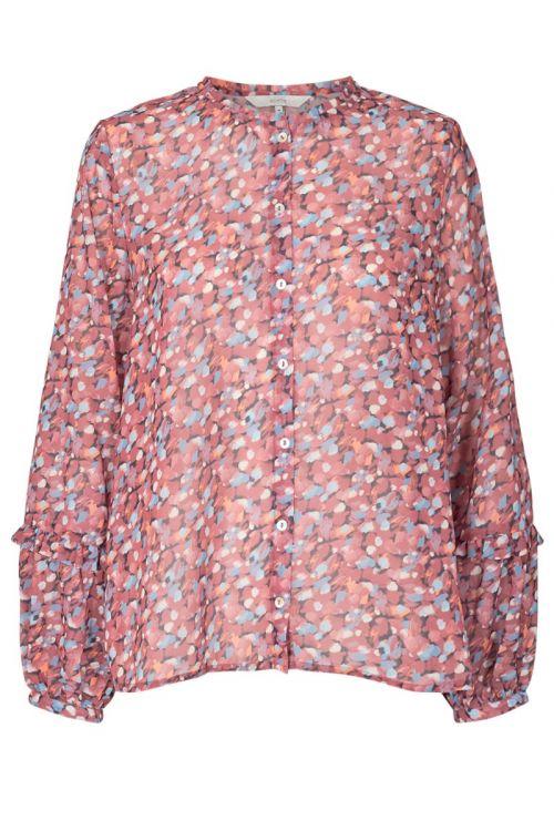 Nümph - Skjorte - Nucait Shirt - Marsala