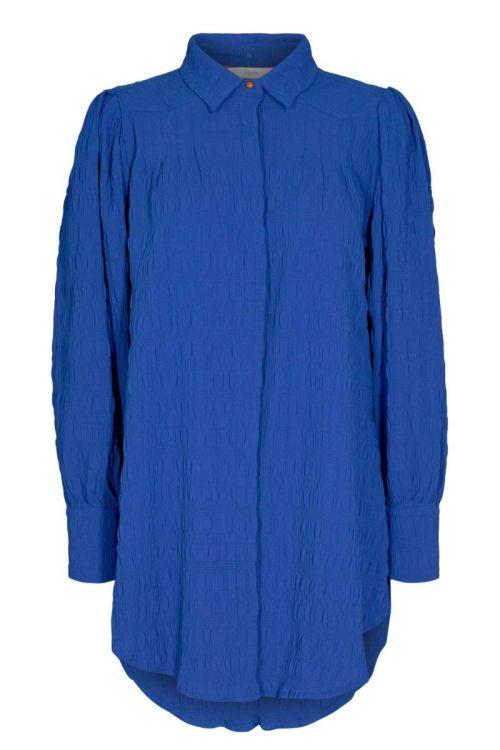 Nümph - Skjorte - Nucameron Long Shirt - Princess Blue
