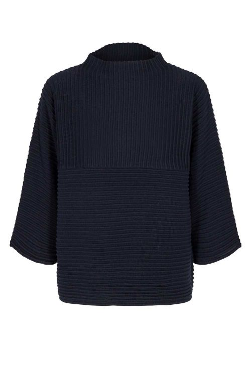 Nümph Strik Irmelin O-neck Pullover Saphire Front
