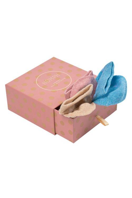 Nümph - Strømper - Dolly 3-Pack Ancle Sock - Multi