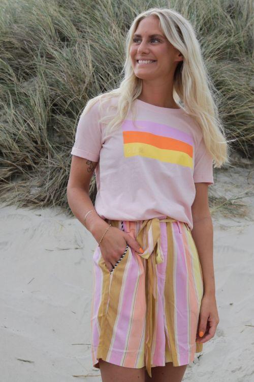 Nümph - T-shirt - Carina Tee - Peach Skin