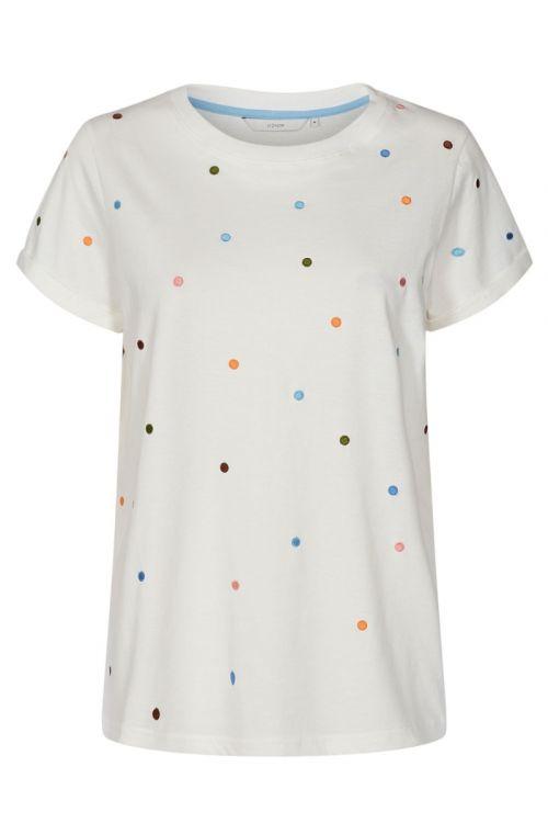 Nümph T-shirt Nubrennan T-shirt Pristine Front
