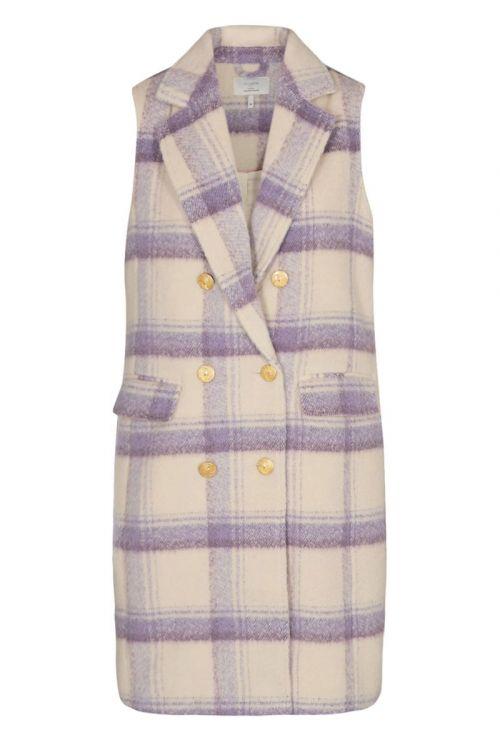 Nümph - Vest - Nuclarisa Waistcoat - Lilac Breeze