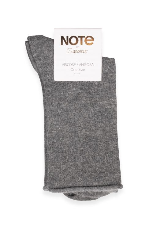 Oroblu Strømper Note Woman Viscose Angora Dark Grey