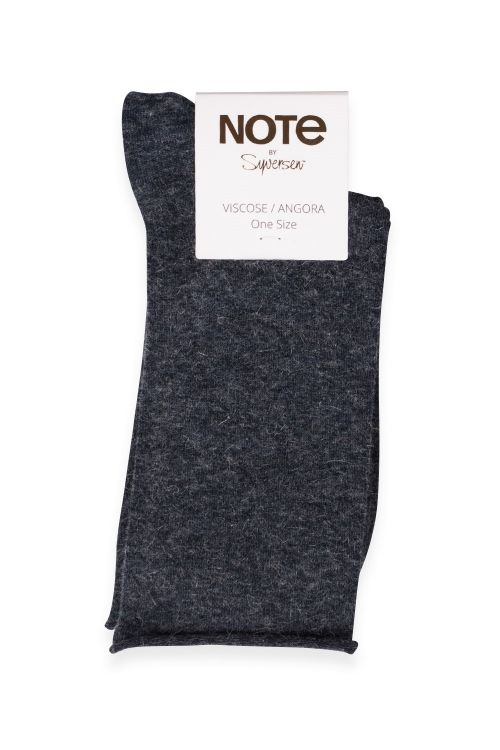 Oroblu Strømper Note Woman Viscose Angora Navy