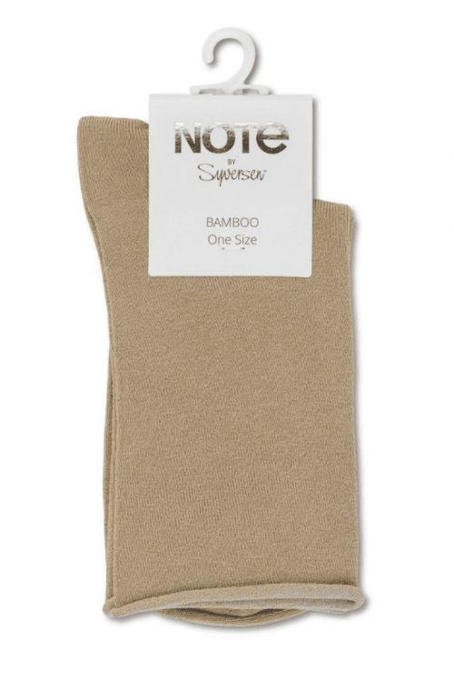 Oroblu - Strømper - Note Woman Bamboo Roll Top - Sand