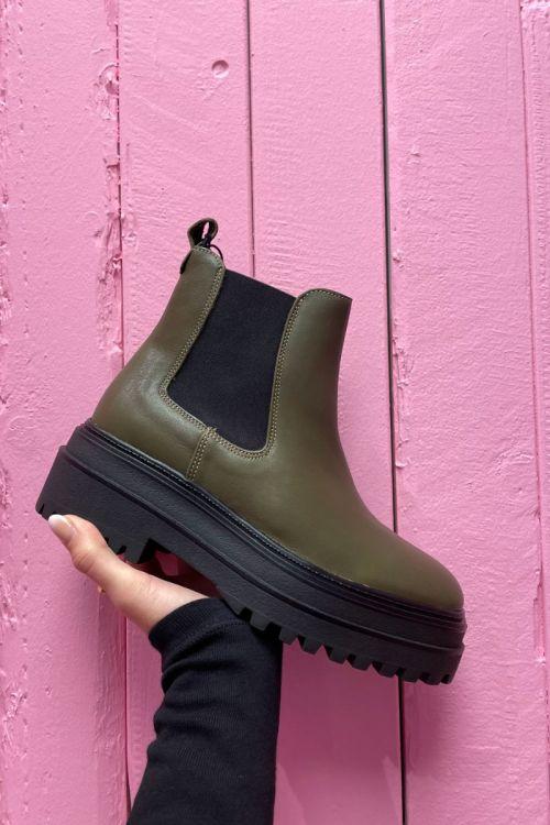 Phenumb - Støvler - Cash - Army Leather