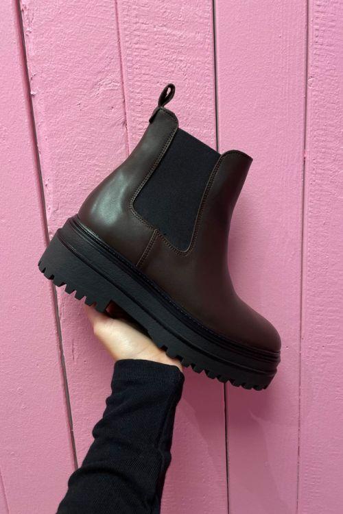 Phenumb - Støvler - Cash - Brown Dark