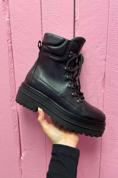 Phenumb - Støvler - Harper - Black Leather