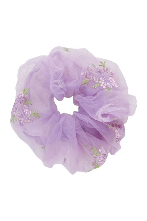 Pieces Accessories PC Julle Oversize Scrunchie Orchid Bloom