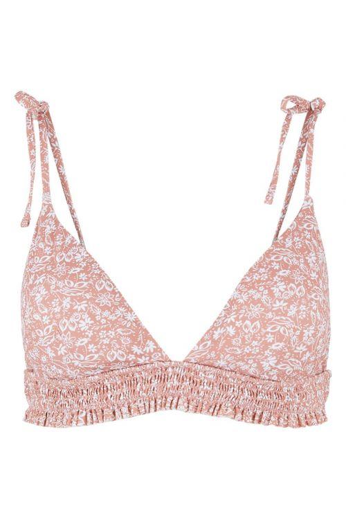 Pieces - Badetøj - PC Gaya Bikini Top - Old Rose