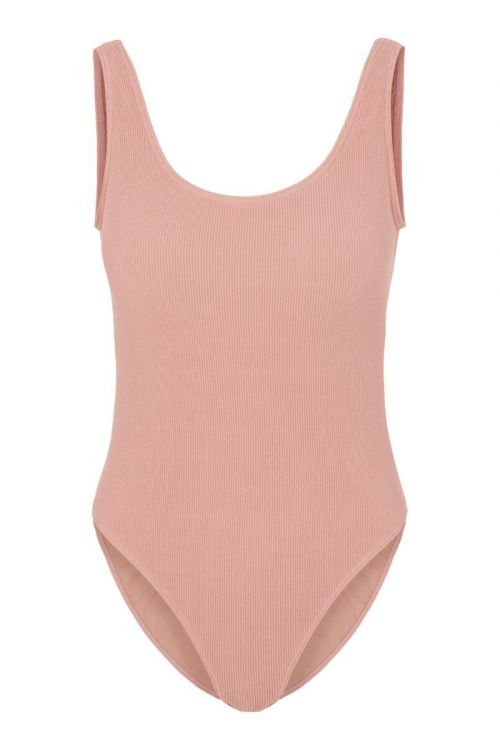 Pieces - Badetøj - PC Giorgia Swimsuit - Old Rose