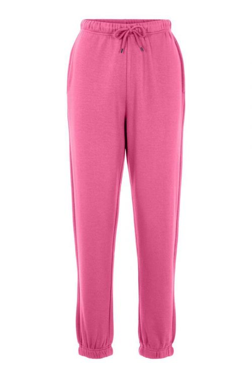 Pieces Bukser PC Chilli HW Sweat Pants Azalea Pink Front